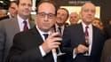 François Hollande a inauguré le salon Vinexpo dimanche à Bordeaux.