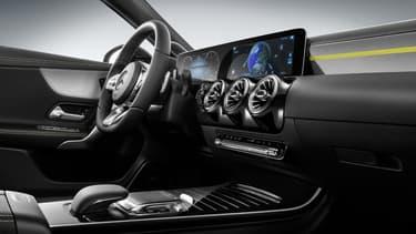L'intérieur de la nouvelle Classe A reprend de nombreux éléments de la limousine Classe S.