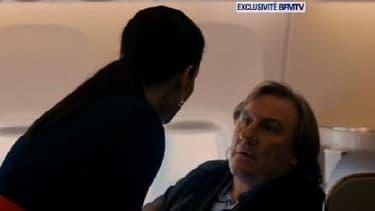 """Gérard Depardieu incarne Dominique Strauss-Kahn, dans le film """"Welcome to New York"""", qui sera projeté à Cannes puis rendu disponible en VOD dans la foulée."""