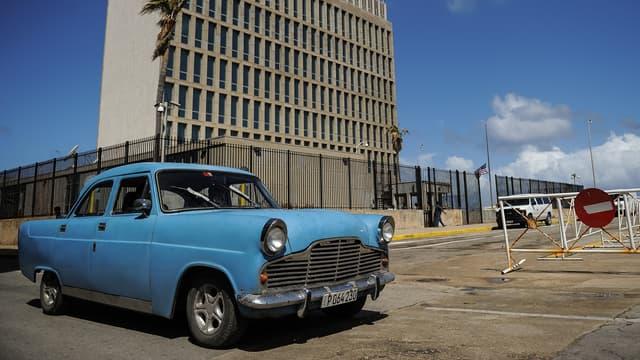 L'ambassade américaine à La Havane, le 3 octobre 2017.