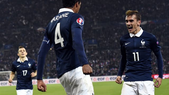 Raphaël Varane - Antoine Griezmann