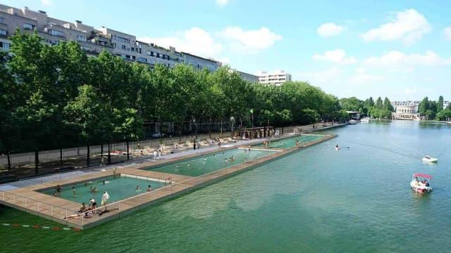 Cet été, les Parisiens pourront se baigner dans le bassin de la Villette.