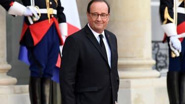 François Hollande à l'Elysée en septembre 2019.