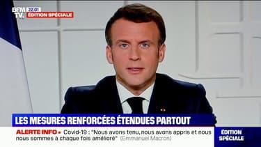 Écoles, déplacements, vaccination… Le point sur les annonces d'Emmanuel Macron