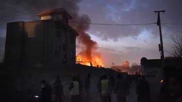 L'attaque a visé le restaurant français Le Jardin, à Kaboul, très prisé par les expatriés.