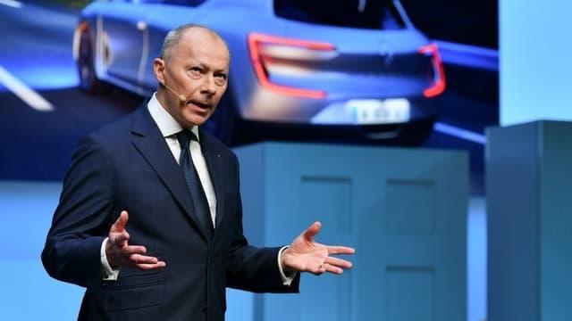 Thierry Bolloré assure la direction exécutive de Renault depuis l'arrestation de Carlos Ghosn