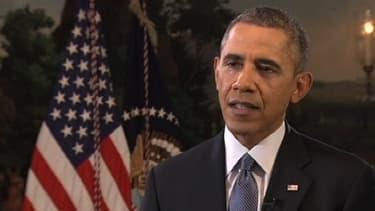 Le président américain a exclu mercredi 19 mars 2014 toute intervention américaine en Ukraine.