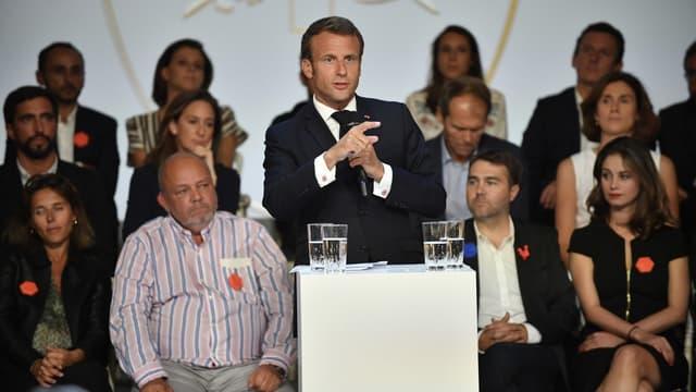 Emmanuel Macron a présenté mardi soir la stratégie du gouvernement pour la French Tech.