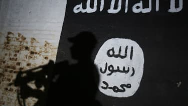 Drapeau de Daesh (illustration)