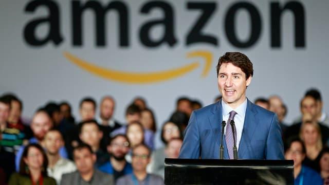 L'annonce des recrutements a été faite en présence de Justin Trudeau, le Premier ministre du Canada.