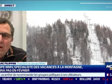 Jean-Marc Filippini (MMV) : Le groupe MMV, spécialiste des vacances à la montagne, n'ouvrira pas en février - 28/01