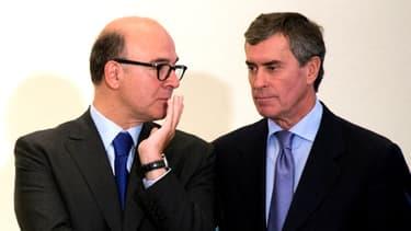 Pierre Moscovici et Jérôme Cahuzac.