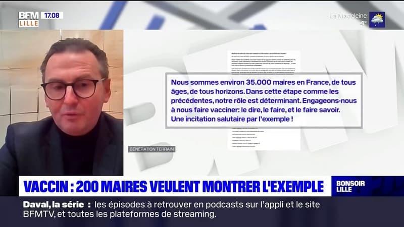 Covid-19: 200 élus dont le maire d'Arras vont se faire vacciner pour