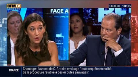 """Jean-Christophe Cambadélis face à Nathalie Schuck dans BFM Politique: """"La France peut accueillir les réfugiés"""""""