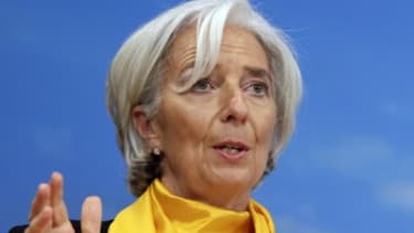 Chrsitine Lagarde, la directrice générale du FMI