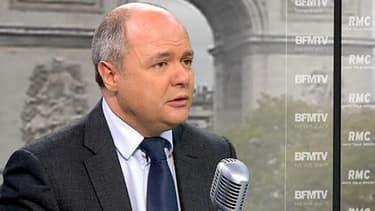 Bruno Le Roux, président du groupe PS à l'Assemblée nationale.