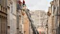 Des immeubles se sont effondrés à Marseille.