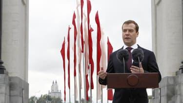Le Premier ministre russe Dmitri Medvdedev.