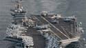 La décision américaine d'ensevelir en mer le corps d'Oussama ben Laden fait débat, même si les militaires assurent que sa dépouille, transportée sur le porte-avions Carl Vinson (photo) avant d'être immergée en mer d'Oman, a été traitée conformément aux rè