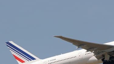 Un Boeing 777-300 d'Air France au décollage (photo d'illustration).