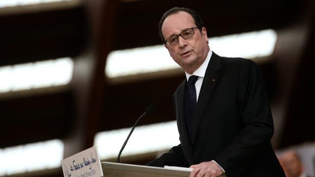François Hollande, le 29 mars 2016