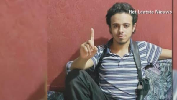 Bilal Hadfi, kamikaze des attentats à Paris, dans une photo non datée.