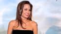 """Angelina Jolie, de passage à Paris le 6 mai 2014, pour la promotion de son prochain film, """"Maléfique""""."""