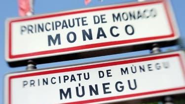 La frontière monégasque - Image d'illustration