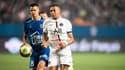 Kylian Mbappé avec le PSG contre Troyes