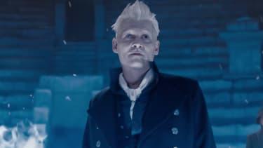 Johnny Depp dans la peau de Grindelwald