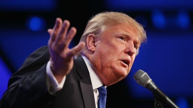 Donald Trump est candidat à l'élection présidentielle américaine de 2016.