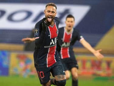 Neymar lors de Lens-PSG