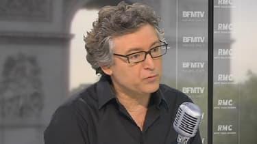 Le philosophe Michel Onfray sur BFMTV, le 24 mai 2013