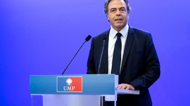Le secrétaire général par intérim de l'UMP, Luc Chatel, le 14 juillet 2014, à Paris.