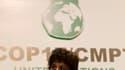 La ministre brésilienne de l'Environnement, Izabella Teixeira, acteur clé des négociations climatiques, à Durban. Le projet européen visant à mettre en place d'ici 2015 un accord climatique mondial doté d'objectifs imposés semblait jeudi bénéficier d'un s