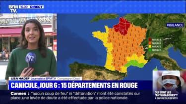 Canicule, jour 6 : 15 départements en rouge - 11/08