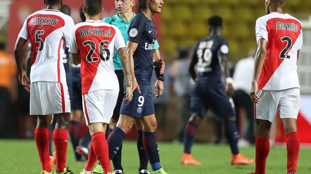 Edinson Cavani face à Monaco, le 28 août dernier