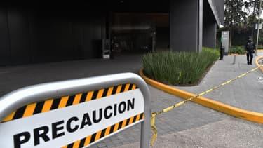 Une scène de meurtre au Mexique