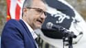 Jean-Guy Talamoni, président de l'Assemblée de Corse, affirme son soutien à l'indépendance catalane.