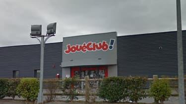 Le magasin JouéClub de Ploumagoar