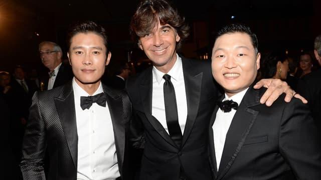 Patrizio di Marco (au centre) a dirigé Gucci pendant six ans.