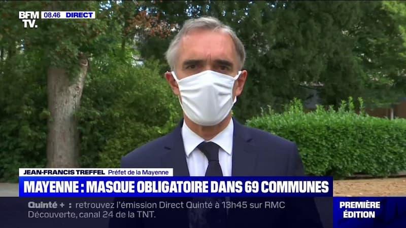 Le préfet de Mayenne affirme que 650.000 masques en tissus ont été distribués aux Mayennais