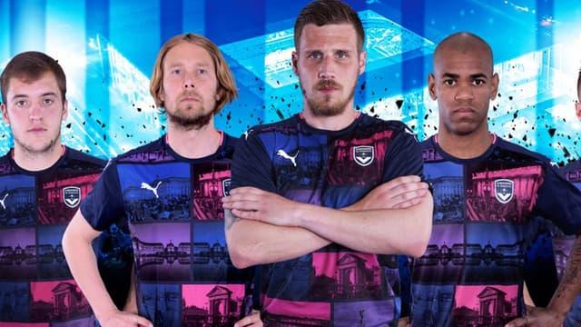 Le nouveau maillot de Bordeaux