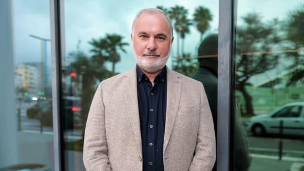 "Jean-Marc Governatori, coprésident de ""Cap Ecologie"", le 17 mars 2021 à Nice."