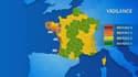 Le littoral français est placé en alerte orange dans 8 départements, du Finistère aux Pyrénées-Atlantiques, le 6 janvier 2014