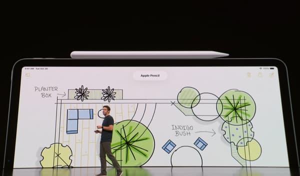 Le style de l'iPad Pro.