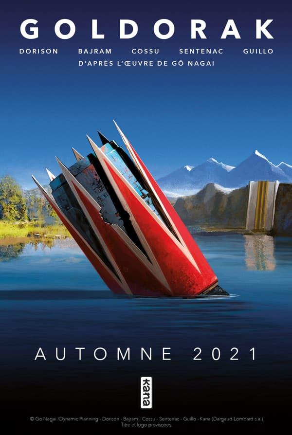 """Premier visuel du """"Goldorak"""" made in France"""