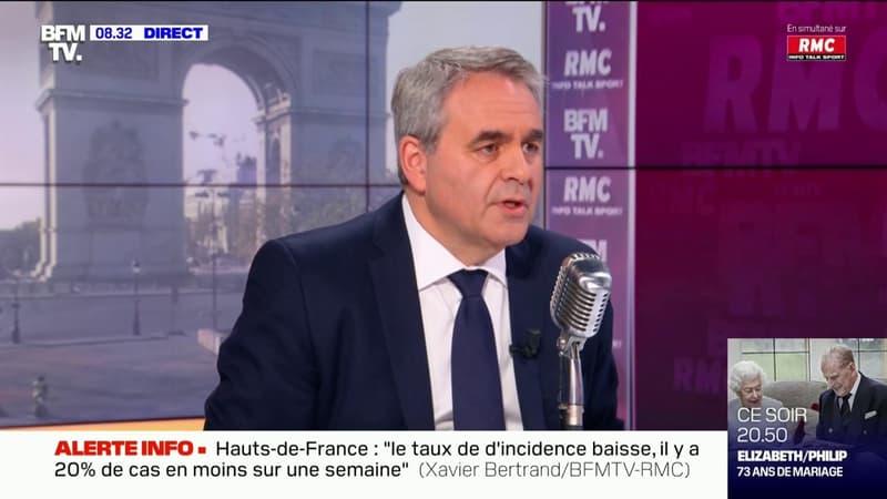 """Xavier Bertrand appelle à la vaccination """"des personnes les plus exposées"""""""