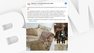 Pas-de-Calais: un couple découvre sous le parquet des lettres datant de la Première Guerre mondiale