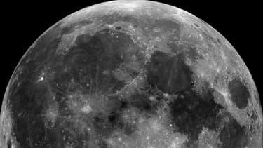 Vue de la lune. - NASA via Wikimedia Creative Commons